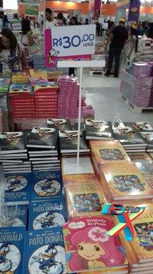 Livrarias com preços bem atrativos... vazias.