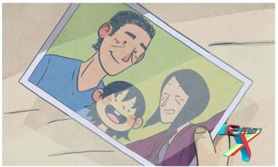Uma selfie em família.