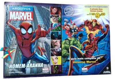 Coleção da Planeta DeAgostini traz informações detalhadas dos heróis Marvel.