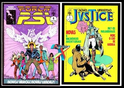 No Brasil, os dois títulos do Novo Universo, com 12 edições cada.