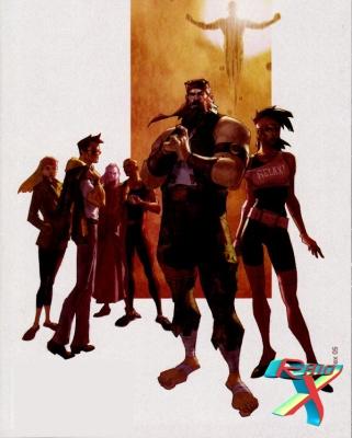 P.N. 7 lembravam os X-Men e tiveram vida mais longa.