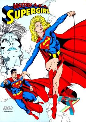 Matriz foi uma ideia bem esdrúxula da editora para criar uma nova Supergirl.