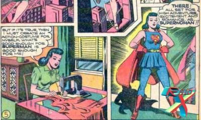Antes da Supergirl, Lois Lane já foi uma Superwoman.