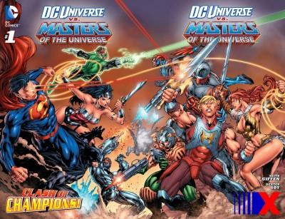 He-Man já se encontrou com os heróis da DC em encadernado lançado pela Panini