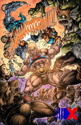 Ação frenética: He-Man enfrenta, sozinho, todos os vilões de Etérnia e do Terceiro Mundo.