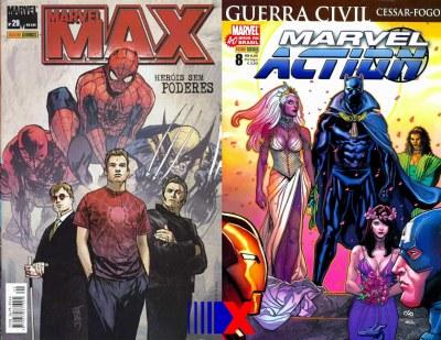 Panini publicou séries solo do mestre místico em Marvel Max e Marvel Action.