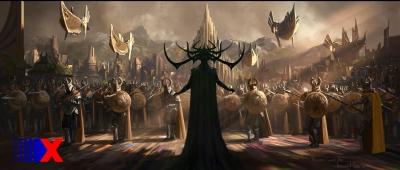 A deusa da morte causou frisson quando a imagem conceitual foi divulgada.