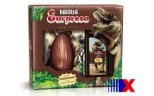 Ovo resgata marca clássica dos anos 1980 - mas o sabor do chocolate é diferente!