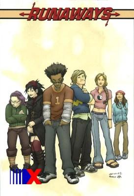 Equipe estreou em 2003. No Brasil, a primeira aparição foi na Coleção Pocket Panini, de 2006.