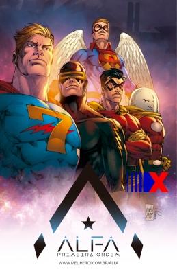 Capitão 7 encabeça a lista de heróis clássicos que estarão na HQ.