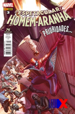 Peter Parker percebe que grandes poderes trazem grandes problemas.