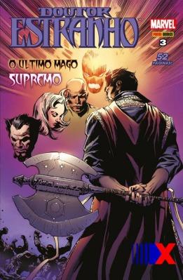 O Mago Supremo e seu machado místico numa fase excelente.
