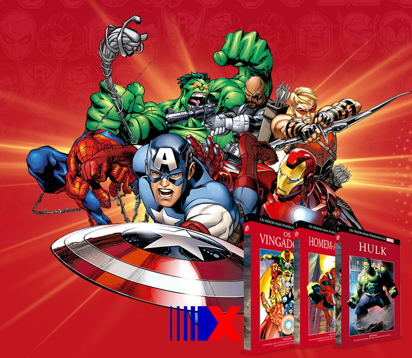 f89abb4c62 Coleção Graphic Novels Marvel