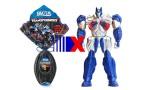 Ovo Transformers traz Optimus Prime ou Bumblebee, mais aplicativo.